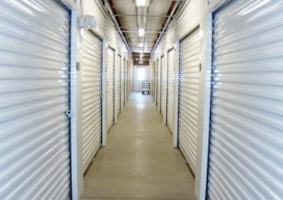 The inside of a storage facility in Mechanicsburg Pennsylvania.